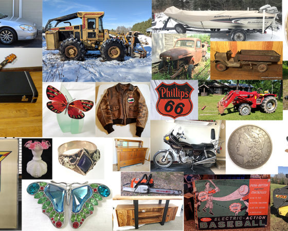 Booking for 2019 Auctions